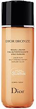 Düfte, Parfümerie und Kosmetik Erfrischender Selbstbräunungsnebel für den Körper - Dior Bronze Liquid Sun Self-Tanning Body Water