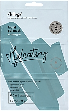 Düfte, Parfümerie und Kosmetik Feuchtigkeitsspendende Gelmaske für das Gesicht mit Aloe Vera, Hyaluronsäure und Provitamin B5 - Kili-g Hydrating Face Mask
