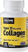 Düfte, Parfümerie und Kosmetik Kollagen in Kapseln Typ II 50 mg 60 St. - Jarrow Formulas Type II Collagen Complex