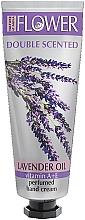 Düfte, Parfümerie und Kosmetik Parfümierte Handcreme mit Vitaminen A, E und Lavendelöl - Nature of Agiva Flower Lavender Oil Hand Cream