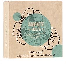 Düfte, Parfümerie und Kosmetik Seife mit violettem Öl - Essencias De Portugal Senses Violet Soap With Olive Oil