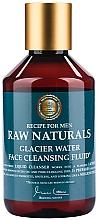 Düfte, Parfümerie und Kosmetik Nährendes Gesichtsreinigungsfluid für Männer - Recipe For Men RAW Naturals Glacier Water Face Cleansing Fluid