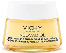 Düfte, Parfümerie und Kosmetik Regenerierende Lifting-Tagescreme gegen Erschlaffung für die Haut nach der Menopause - Vichy Neovadiol Replenishing Anti-Sagginess Day Cream