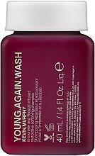 Düfte, Parfümerie und Kosmetik Stärkendes Shampoo mit Orchideen- und Lotusblumenextrakt für brüchiges und strapaziertes Haar - Kevin.Murphy Young.Again.Wash (Mini)