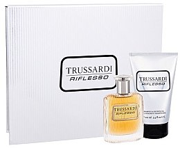 Düfte, Parfümerie und Kosmetik Trussardi Riflesso - Kosmetikset (Eau de Toilette/50ml + Duschgel/100ml)