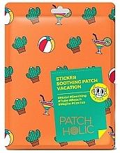Düfte, Parfümerie und Kosmetik Beruhigende Gesichts- und Körperpatches mit Kaktusextrakt - Patch Holic Sticker Soothing Patch Vacation