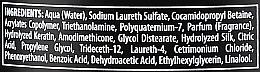 Restrukturierendes Shampoo mit Keratin - Black Professional Line Keratin Protein Shampoo — Bild N3