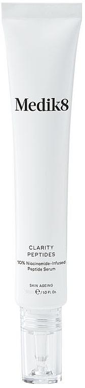 Entzündungshemmendes und reinigendes Gesichtsserum mit Vitamin B3 und Peptiden - Medik8 Clarity Peptides Serum