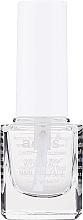 Düfte, Parfümerie und Kosmetik 2in1 Schnelltrockender Nageldecklack - Ados №19