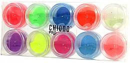 Düfte, Parfümerie und Kosmetik Fluoreszierendes Nageldesign-Set - Chiodo Pro Puder