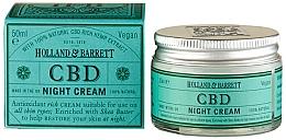 Düfte, Parfümerie und Kosmetik Nachtcreme für das Gesicht mit Hanf - Holland & Barrett CBD Night Cream