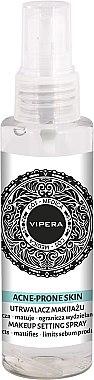 Mattierender Make-up-Fixierer für fettige und unreine Haut - Vipera Cos-Medica Acne-Prone Skin Makeup Setting Spray