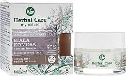 Düfte, Parfümerie und Kosmetik Regenerierende Gesichtsmaske mit weisser Quinoa für alle Hauttypen - Farmona Herbal Care