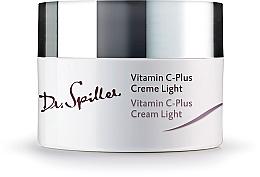 Düfte, Parfümerie und Kosmetik Feuchtigkeitsspendende leichte Anti-Aging Gesichtscreme mit Vitamin C - Dr. Spiller Vitamin C-Plus Cream Light
