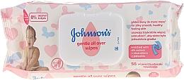 Düfte, Parfümerie und Kosmetik Feuchttücher für Babys - Johnson's Baby Gentle All Over Baby Wipes