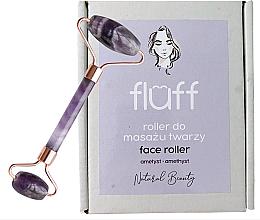 Düfte, Parfümerie und Kosmetik Massageroller für das Gesicht aus Amethyst - Fluff Face Roller Ametyst