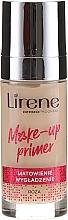 Düfte, Parfümerie und Kosmetik Mattierender Gesichtsprimer mit Extrakt aus blauem Lotus & Rosenöl - Lirene Make-Up Primer Rose