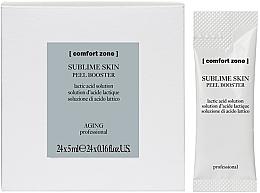 Düfte, Parfümerie und Kosmetik Peeling-Booster für das Gesicht mit Milchsäure - Comfort Zone Sublime Skin Peel Booster