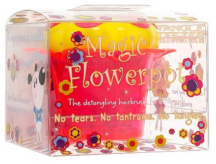 Entwirrbürste - Tangle Teezer Magic Flowerpot Princess Pink