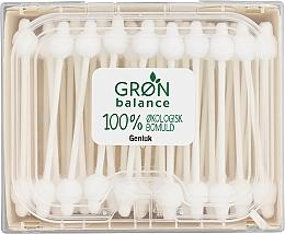 Düfte, Parfümerie und Kosmetik Bio Wattestäbchen für Kinder mit Grenzschutz 60 St. - Gron Balance