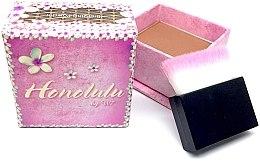 Düfte, Parfümerie und Kosmetik Mattierender Bronzepuder mit Applikatorpinsel - W7 Honolulu Bronzer Powder