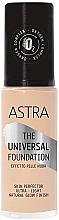 Düfte, Parfümerie und Kosmetik Foundation - Astra Make-up The Universal Foundation