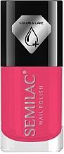 Düfte, Parfümerie und Kosmetik Nagellack - Semilac Color&Care Nail Polish