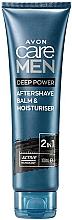 Düfte, Parfümerie und Kosmetik 2in1 After Shave Balsam - Avon Care Men Deep Power After Shave Balm & Moisturiser