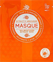 Düfte, Parfümerie und Kosmetik Beleuchtende uns strahlende Tuchmaske mit Sanddorn - Peggy Sage Illuminating Radiance-revealing Mask