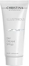 Düfte, Parfümerie und Kosmetik Schützende Tagescreme gegen die schädlichen Sonnenstrahlen SPF 50 - Christina Illustrious Day Cream SPF50
