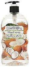 Düfte, Parfümerie und Kosmetik Flüssige Handseife mit Kokosnuss und Aloe Vera - Bluxcosmetics Naturaphy Hand Soap