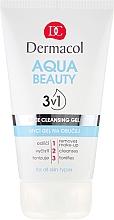 Düfte, Parfümerie und Kosmetik Gesichtsreinigungsgel - Dermacol Aqua Beauty 3v1 Face Cleansing Gel