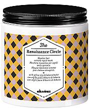 Düfte, Parfümerie und Kosmetik Regenerierende feuchtigkeitsspendende und nährende Haarmaske für stark geschädigtes Haar mit gelbem Ton und Babassubutter - Davines The Renaissance Circle Hair Mask