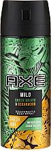Düfte, Parfümerie und Kosmetik Deospray - Axe Wild Green Mojito & Cedarwood