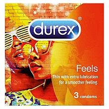Düfte, Parfümerie und Kosmetik Kondome  3 St. - Durex Feels