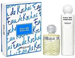 Düfte, Parfümerie und Kosmetik Rochas Eau De Rochas - Duftset (Eau de Toilette 220ml + Körperlotion 500ml)