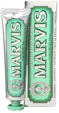 Zahnpasta mit Minze - Marvis Classic Strong Mint