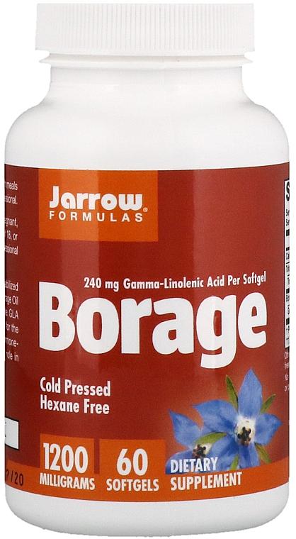 Nahrungsergänzungsmittel Borretsch - Jarrow Formulas Borage GLA-240