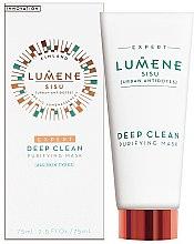 Düfte, Parfümerie und Kosmetik Peeling-Waschmaske - Lumene Sisu Expert Deep Clean Purifying Mask