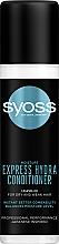 Düfte, Parfümerie und Kosmetik Glättender Conditioner für trockenes und sprödes Haar ohne Ausspülen - Syoss Moisture Express Hydra Conditioner