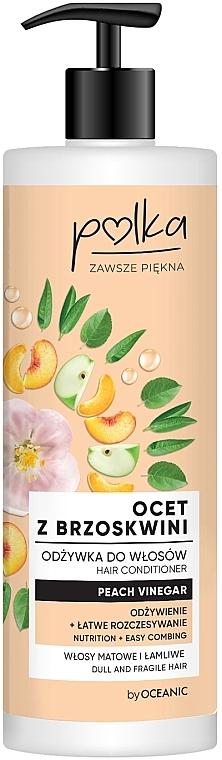 Haarspülung mit Pfirsichessig - Polka Peach Vinegar Conditioner