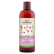 Düfte, Parfümerie und Kosmetik Regenerierendes Shampoo mit 5 Ölen, pflanzlichem Kollagen und Argan für schwaches, sprödes und strapaziertes Haar - Green Pharmacy