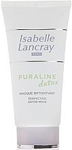 Düfte, Parfümerie und Kosmetik Entgiftende und beruhigende Gesichtsmaske mit Olivenblatt und Vitamin A - Isabelle Lancray Puraline Detox Mask