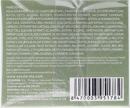 Feuchtigkeitsspendende Gesichtscreme mit Mandelsäure - SesDerma Laboratories Mandelac Moisturizing Cream — Bild N2