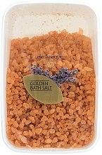 Düfte, Parfümerie und Kosmetik Entspannendes und beruhigendes Badesalz - Organique Bath Salt Golden