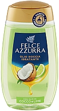 Düfte, Parfümerie und Kosmetik Duschöl mit Kokosnuss- und Limettenöl - Felce Azzurra Shower Oil