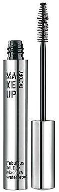 Wasserdichte Wimperntusche - Make Up Factory Fabulous All Day Mascara Waterproof — Bild N2