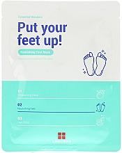 Düfte, Parfümerie und Kosmetik Feuchtigkeitsspendende und pflegende Fußmaske - Leaders Essential Wonders Put Your Feet Up! Mask