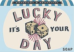 Düfte, Parfümerie und Kosmetik Natürliche Seife It's Your Lucky Day mit Wacholder- und Limettenduft - Bath House Barefoot & Beautiful Hand Soap Juniper & Lime