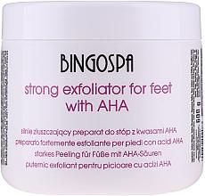 Düfte, Parfümerie und Kosmetik Starkweichmachende Zubereitung für Füße mit 50% Alpha-Fruchtsäuren - BingoSpa Strong Exfoliant for Feet with 50% AHA